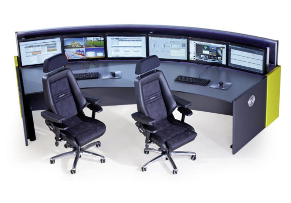 JST Stratos X11 Curve control room console