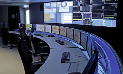 JST Stratos X11 Curve control centre desks in use at Helmholz Zentrum Berlin