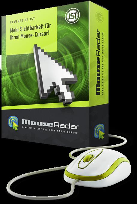 MouseRadar (Software) von JST für Ihren Kontrollraum