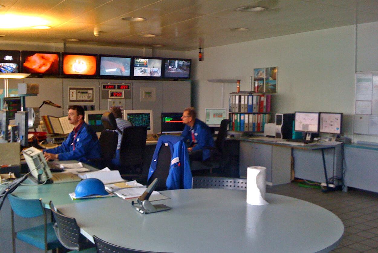 JST Valorec Basel: Leitwarte vor der Modernisierung