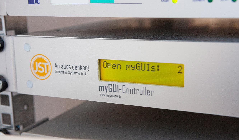 JST - Göttinger Verkehrsbetriebe: Host für die myGUI-Software der myGUI-Controller im Technikraum