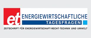 Energiewirtschaftliche Tagesfragen - Logo