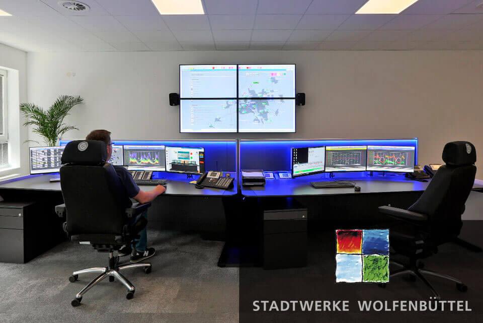 JST Aktuelles: neue Leitwarte für Stadtwerke Wolfenbüttel