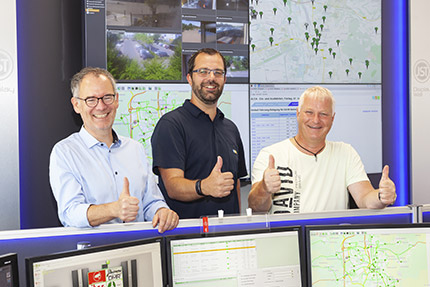 JST - Göttinger Verkehrsbetriebe: Project Managers are happy