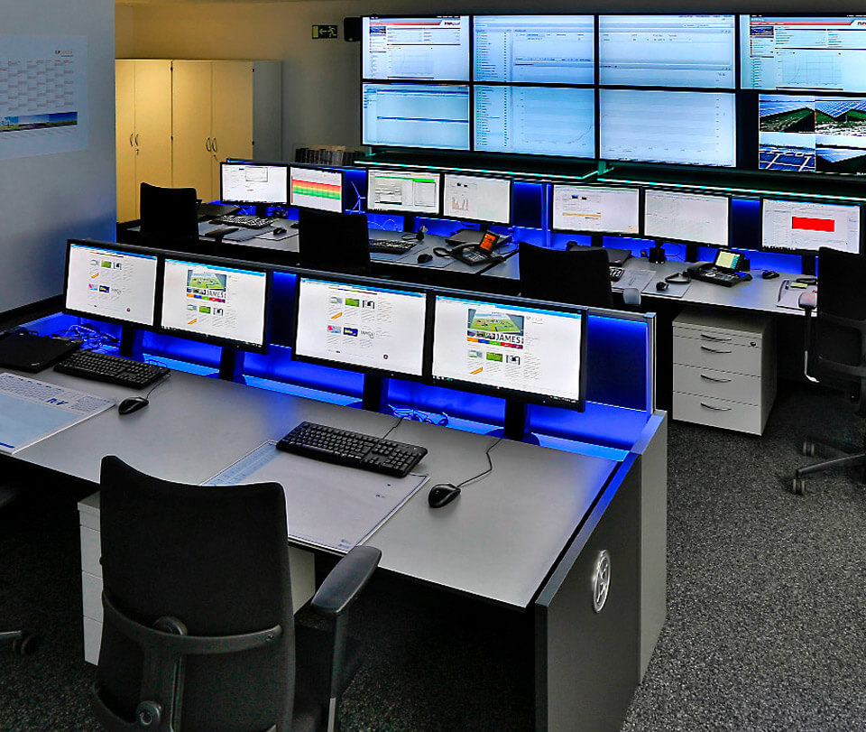 GP JOULE - Modernised power supply control room