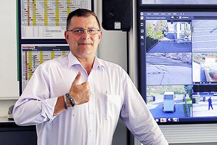 JST Rational Leitwarte: Sicherheitsfachmann Bobby Arnd lobt technische Ausstattung