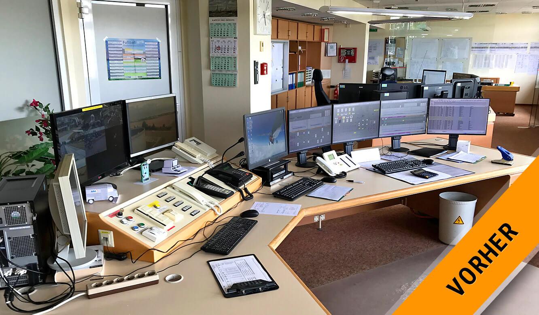 JST MVL Schwedt: Blick in die alte Leitwarte