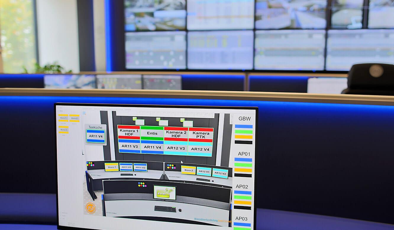 JST MVL Schwedt: moderne Leitstellentechnik mit myGUI-Ansteuerung