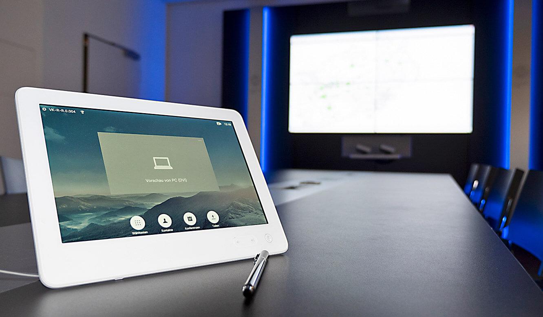 JST-IT.NRW: Steuerung der Video-Wall über Tablet