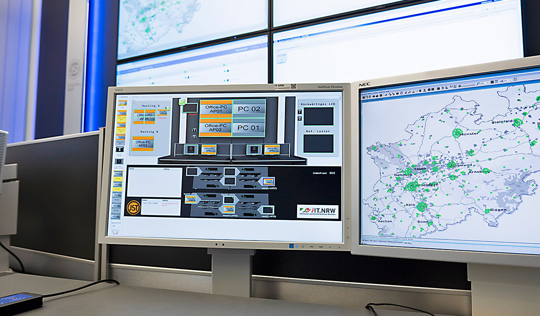 JST-IT.NRW: myGUI-Software zur Bedienung des Multiconsoling auf Arbeitsplatzdisplay