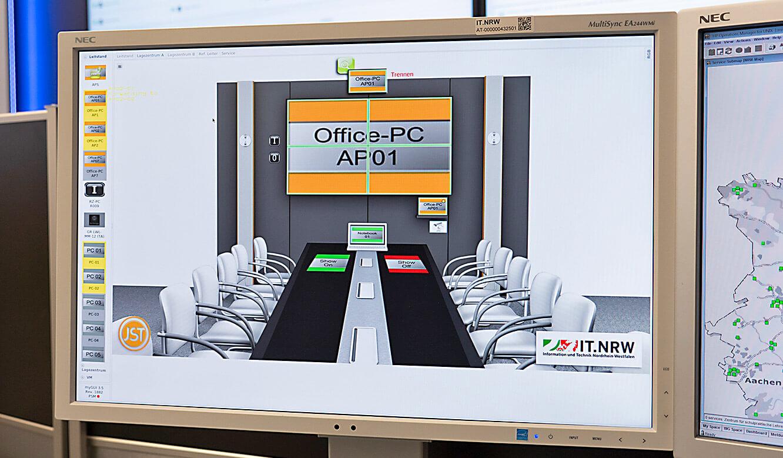 JST-IT.NRW: Konferenzraum angeschlossen an Multiconsling