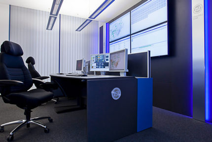 JST-IT.NRW: Glare-free light and alarm light in the control room