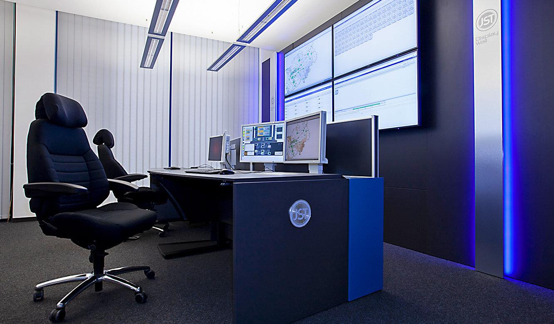 JST-IT.NRW: Blendfreies Licht und Alarm-Light im Leitstand