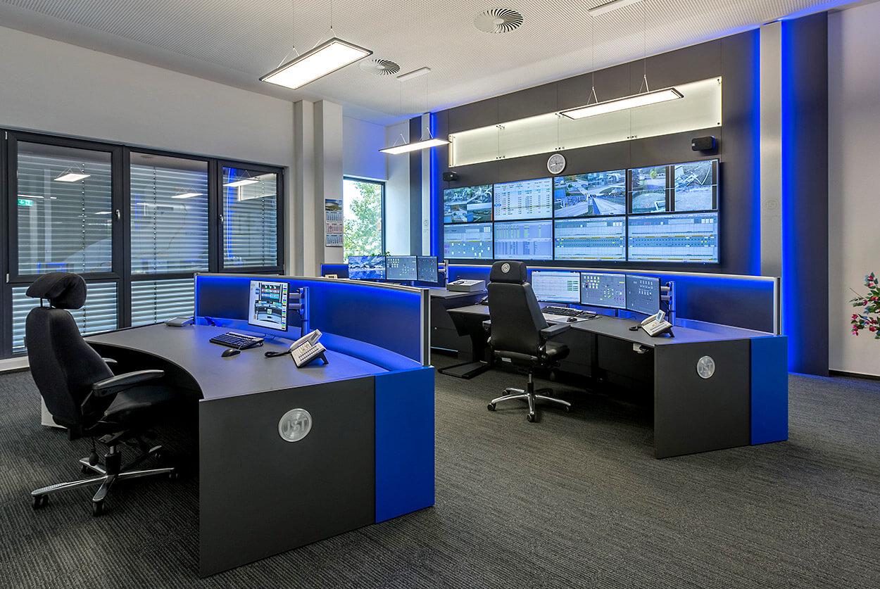 JST MVL Schwedt: Leitstelle nach der Modernisierung