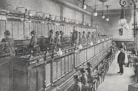 Die Geschichte der Kontrollräume