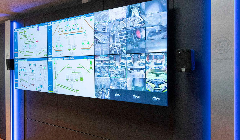 JST VA Erzberg: VideoWall für Kontrollräume und Leitwarten