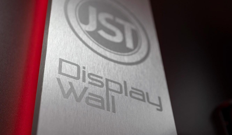 JST VA Erzberg: Moderne Details der Monitorwand für Leitwarten und Leitstände