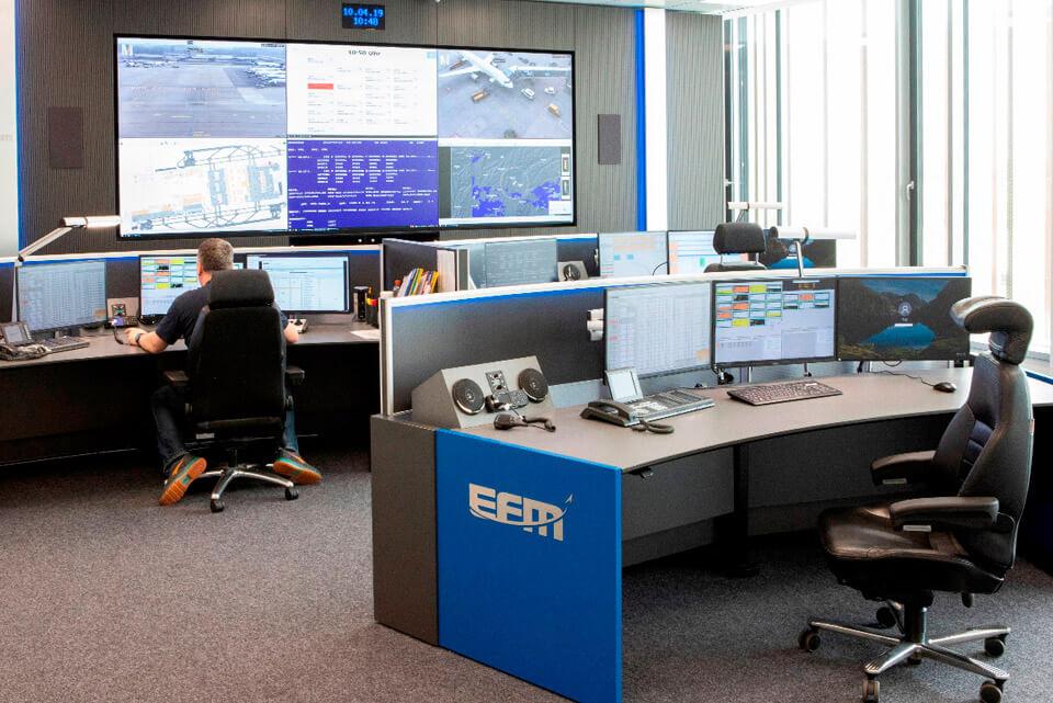 JST Aktuelles: Neue Referenz - Flughafen München - EFM