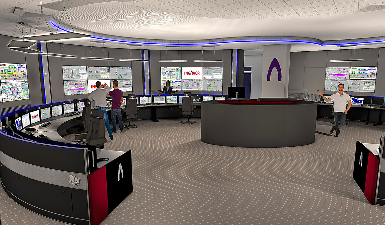 JST INGAVER: Fotorealistische 3d-Planung der Leitwarte