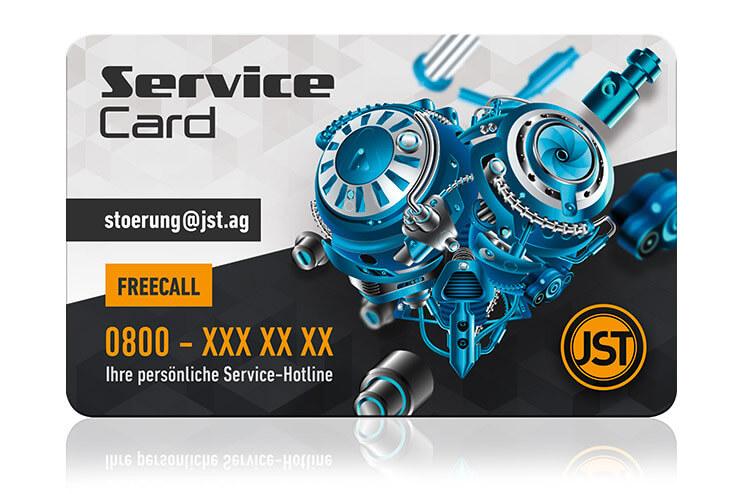JST Service Card
