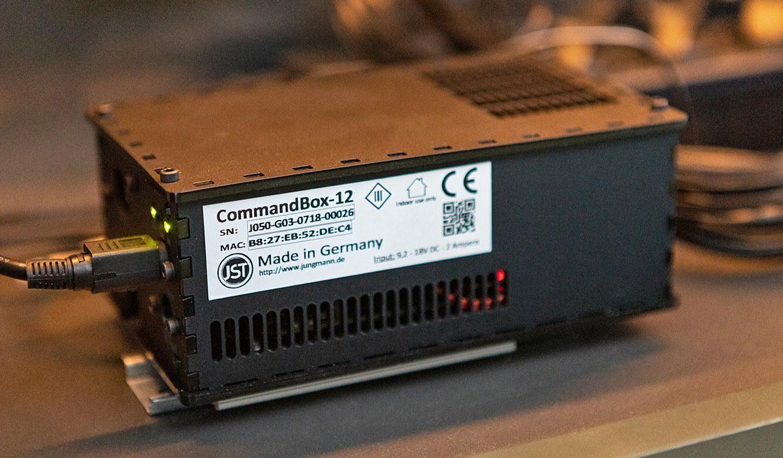 JST Probat-Werke Leitwarte Produktion-Showroom: CommandBox für schnelle Alarmverarbeitung