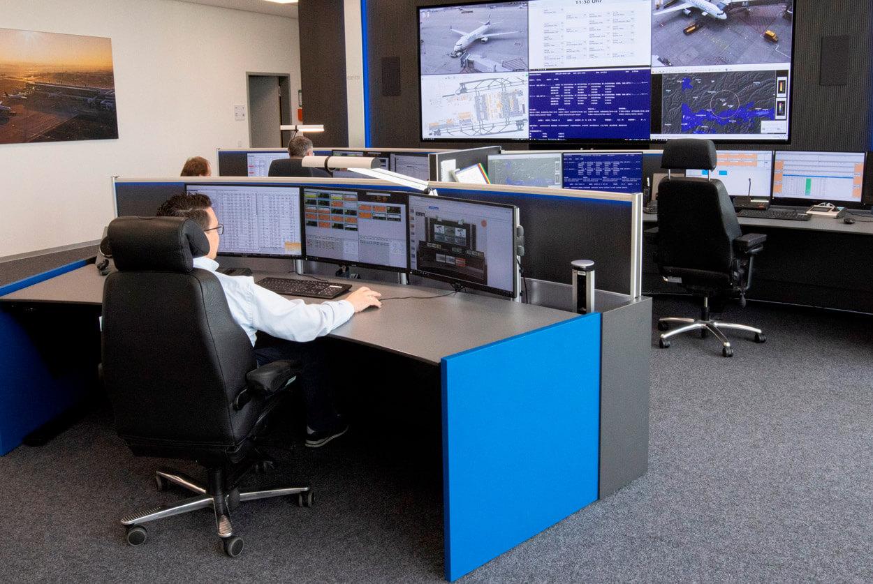 JST Flughafen München EFM Operation Center nach der Modernisierung