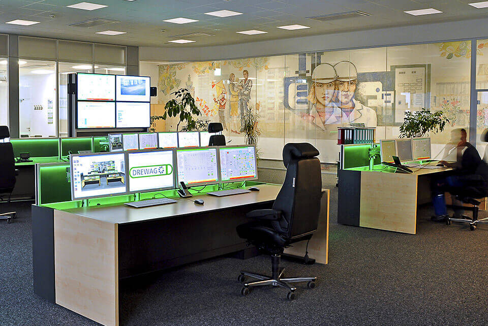 Future-proof switch room for the energy and water industry from JST Jungmann