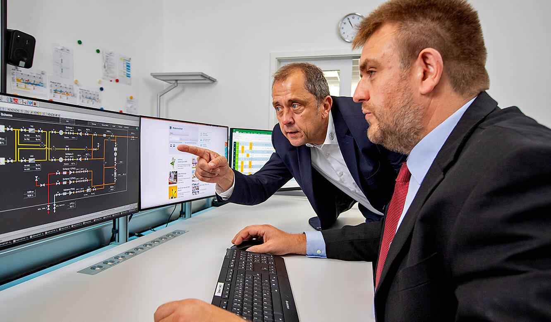 JST Leitwarte Energieversorger Städtische Werke Magdeburg: intensive Beratung zu Kontrollraumfragen