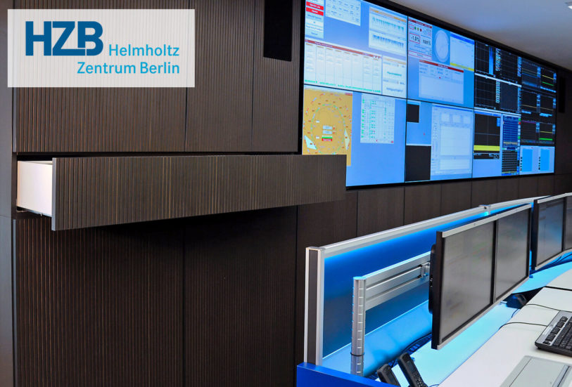 JST VideoWall - Helmholtz Zentrum Berlin - DisplayCover