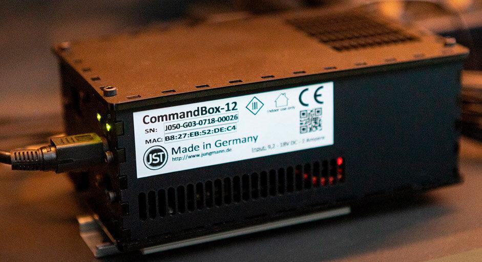 Die CommandBox im Produktionsleitstand der PROBAT-Werke