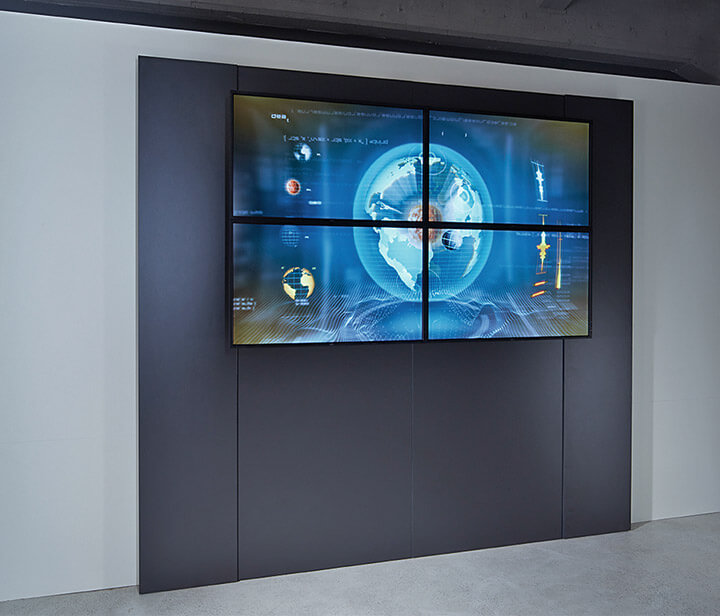JST Großbildtechnik - DisplaySuit: Variante ohne Alarmlight