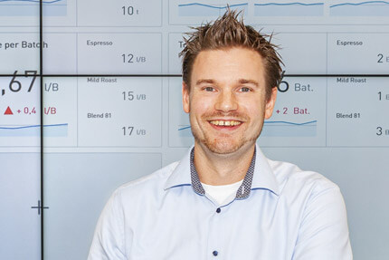 JST Probat-Werke Leitwarte - Projektleiter Sebastian Kersten