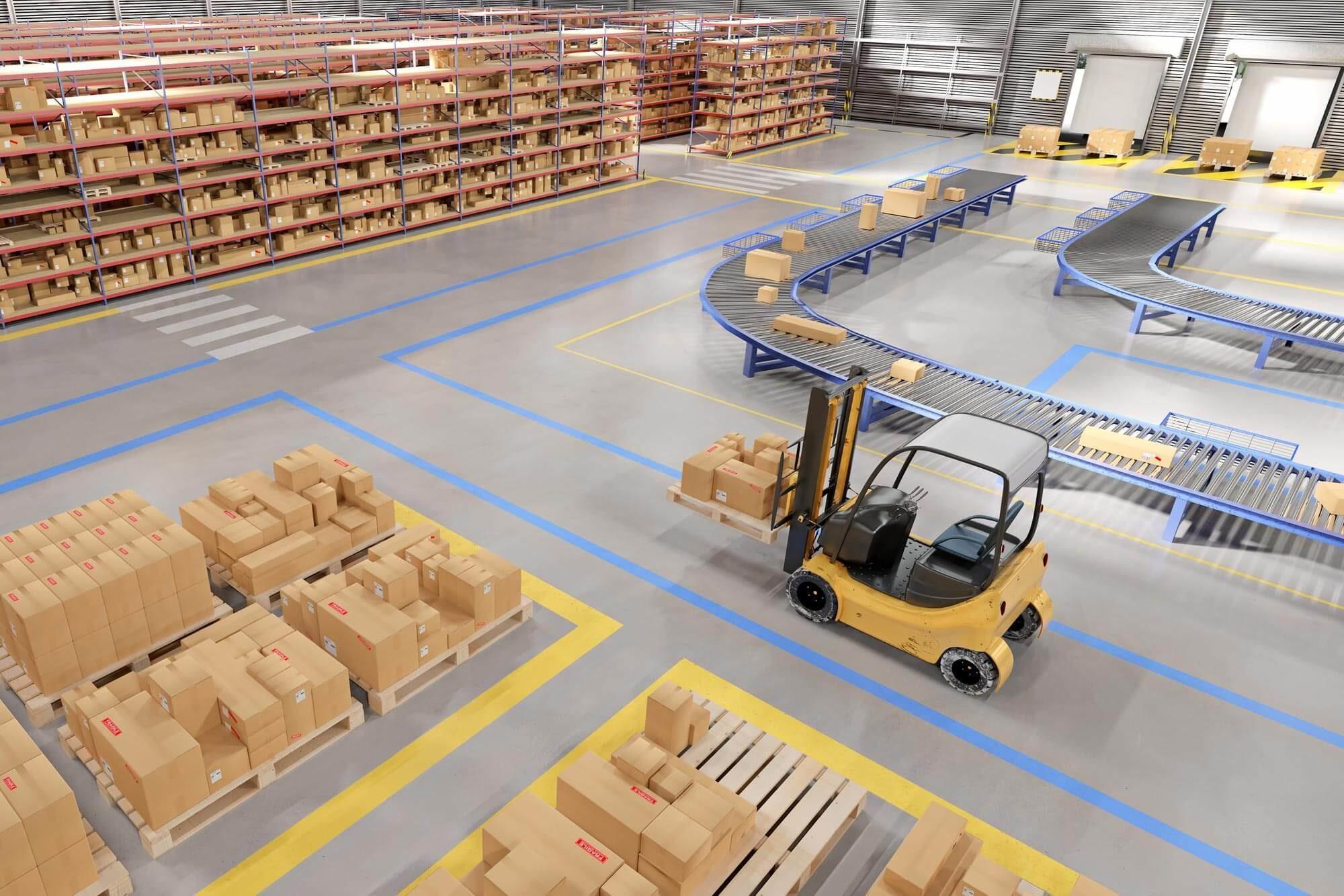 Lagerleitstand und Leitstand für Logistik von JST Jungmann