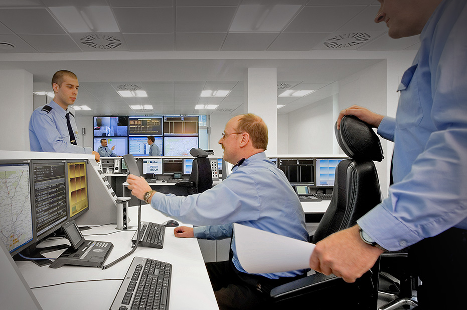 Security control centres from JST Jungmann