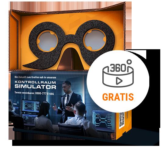 JST-Cardboard for virtual 360°-Tour