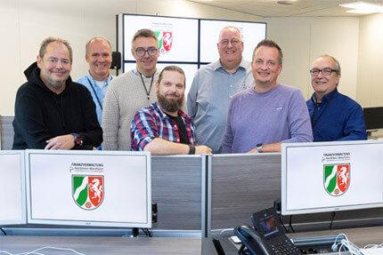 JST Rechenzentrum Finanzverwaltung NRW: Operator mit Kontrollraumlösung zufrieden