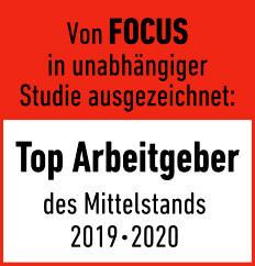 JST ist TOP Arbeitgeber 2019-2020