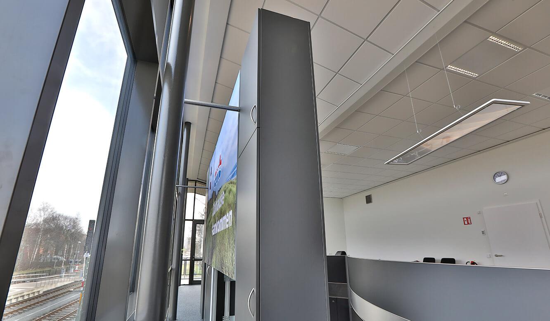 JST Referenz EVB Betriebszentrale: multifunktionale Videowall