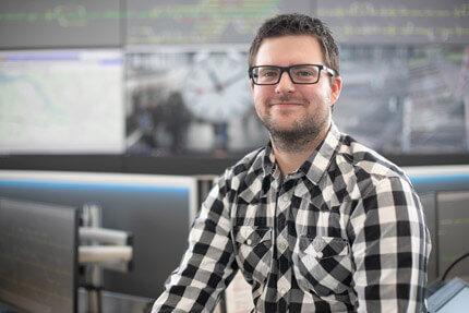 JST Referenz EVB Betriebszentrale: Projektleiter Nicolai Breden