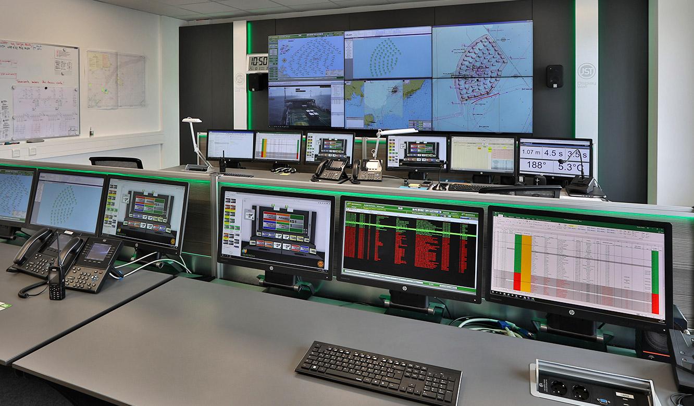 JST-Referenz Leitstelle Windenergie Iberdrola: Nach dem Umbau