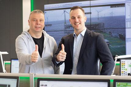 JST-Referenz Leitstelle Windenergie Iberdrola: Projektleiter lobt Bedienungskonzept für neue Leitwarte.