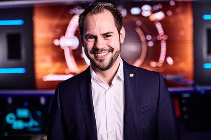 Jungmann Systemtechnik Kontrollraum-Experte Dirk Lüders
