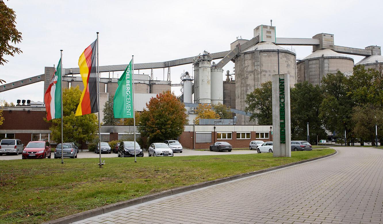 JST-Referenz HeidelbergCement Leitstand: Standort Ennigerloh Cementwerk