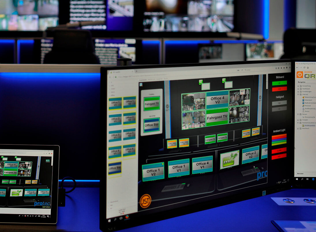 myGUI-Bedienung von JST Jungmann Systemtechnik