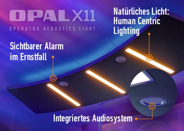 Acoustic Ceiling Sail OPAL X11