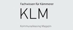 KLM Kommunalleasing Magazin - Logo